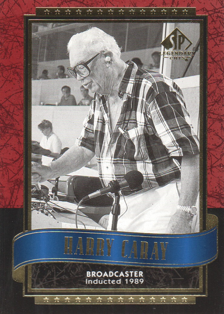 2003 SP Legendary Cuts #52 Harry Caray