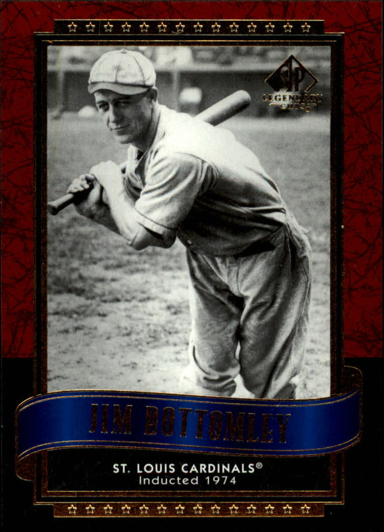 2003 SP Legendary Cuts #57 Jim Bottomley