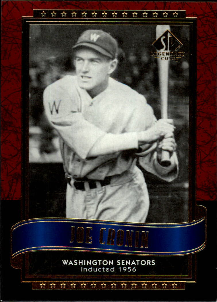2003 SP Legendary Cuts #61 Joe Cronin