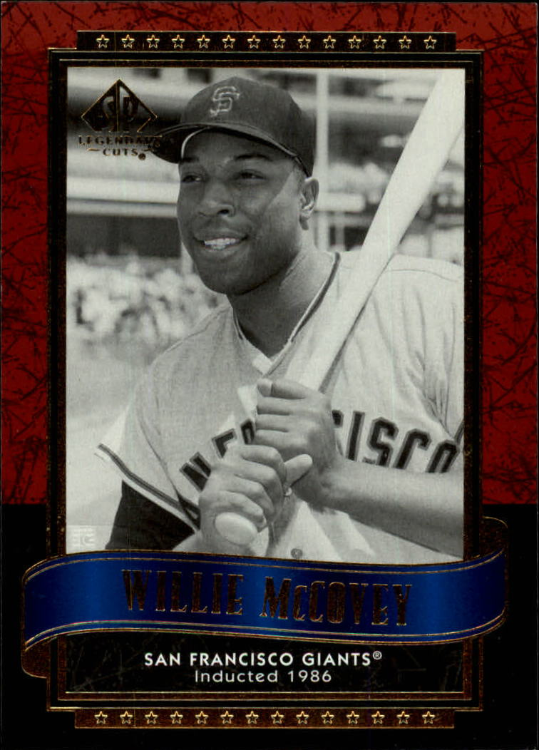 2003 SP Legendary Cuts #65 Willie McCovey