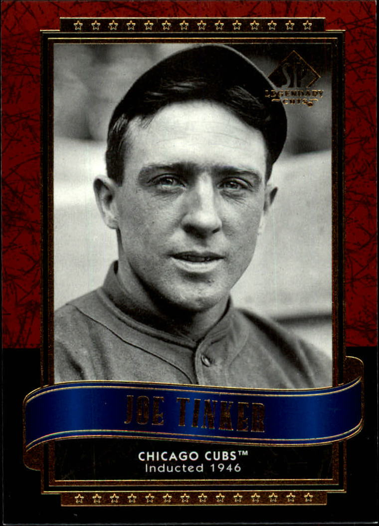 2003 SP Legendary Cuts #66 Joe Tinker