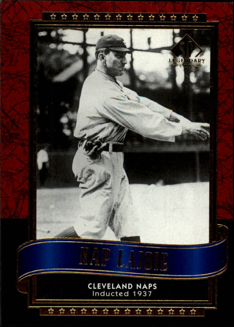 2003 SP Legendary Cuts #76 Nap Lajoie