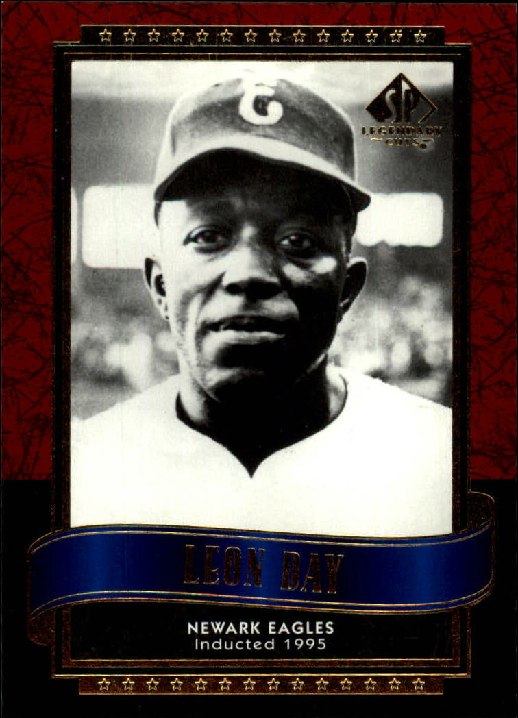 2003 SP Legendary Cuts #82 Leon Day