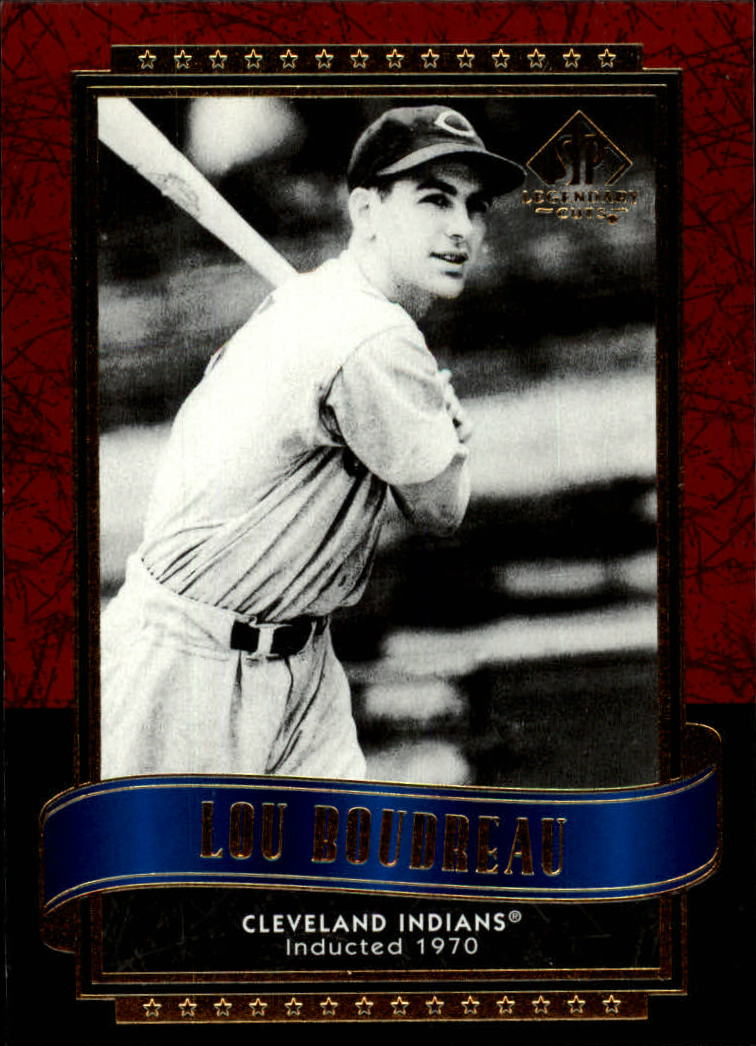 2003 SP Legendary Cuts #84 Lou Boudreau