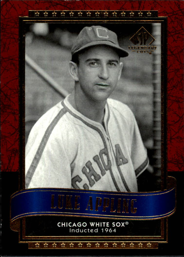 2003 SP Legendary Cuts #86 Luke Appling