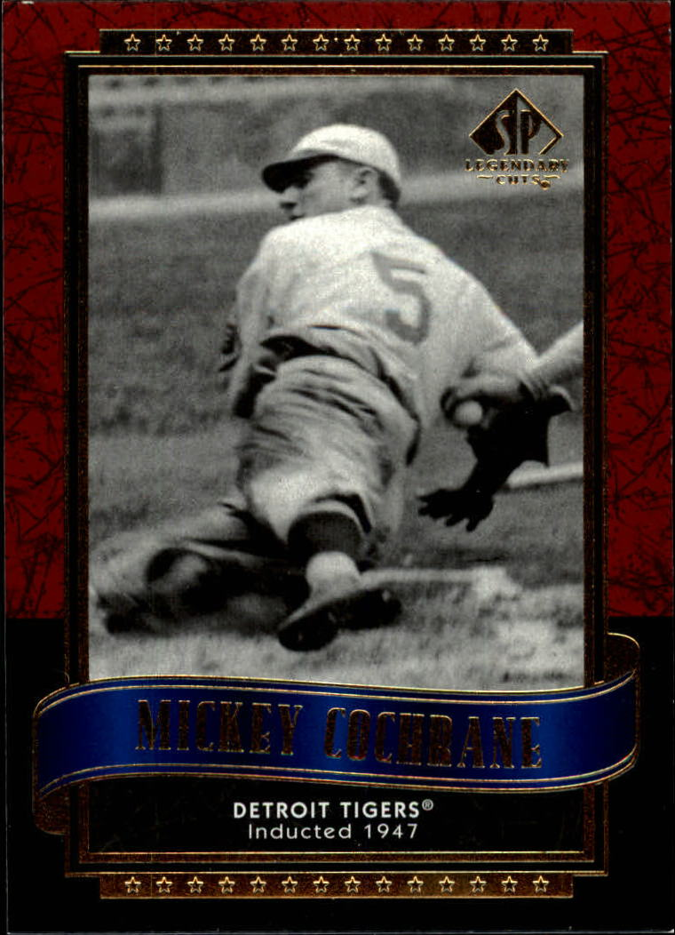 2003 SP Legendary Cuts #90 Mickey Cochrane
