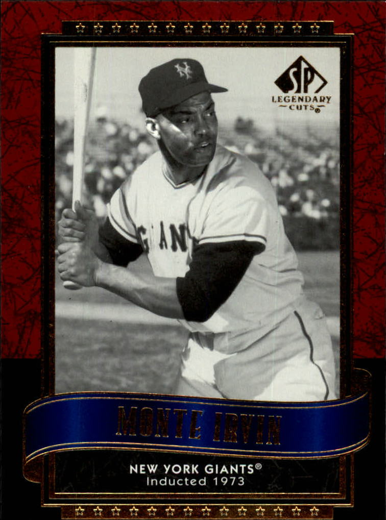 2003 SP Legendary Cuts #93 Monte Irvin