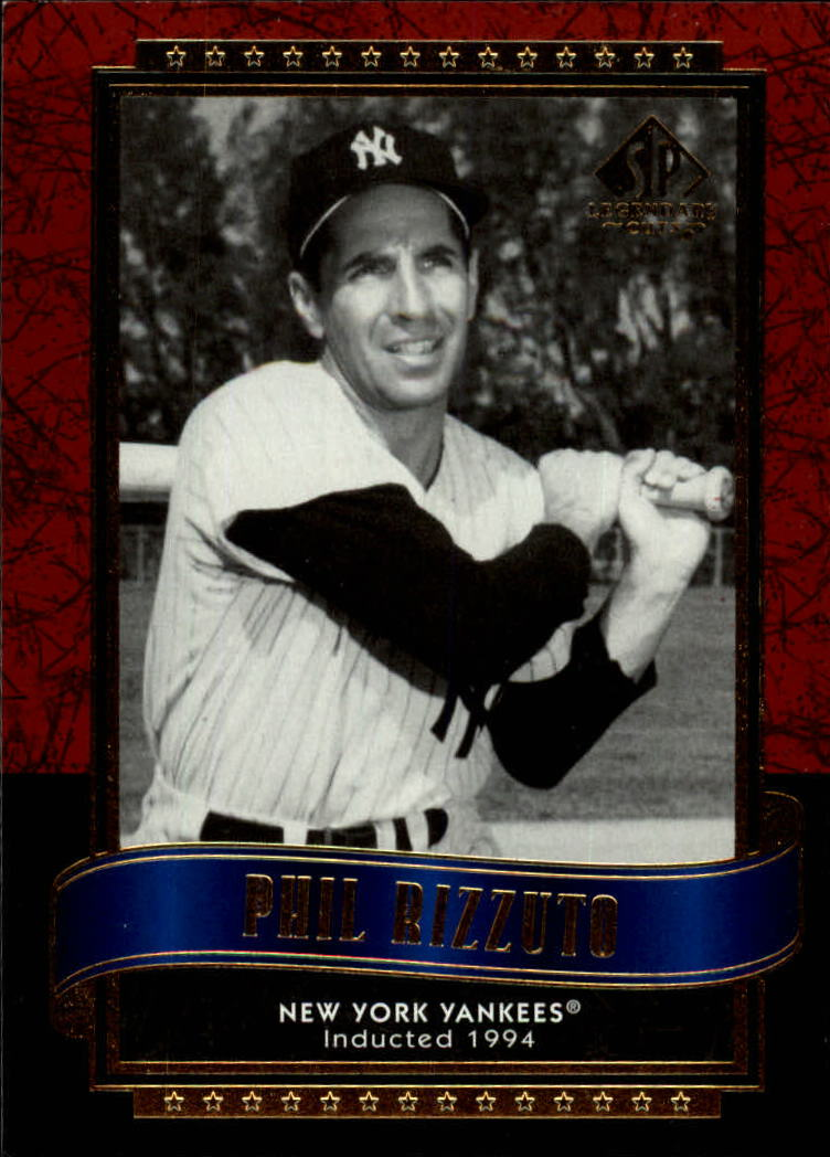 2003 SP Legendary Cuts #99 Phil Rizzuto