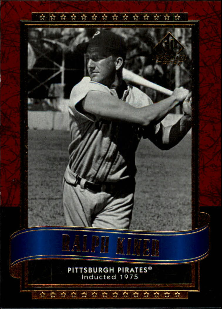 2003 SP Legendary Cuts #100 Ralph Kiner