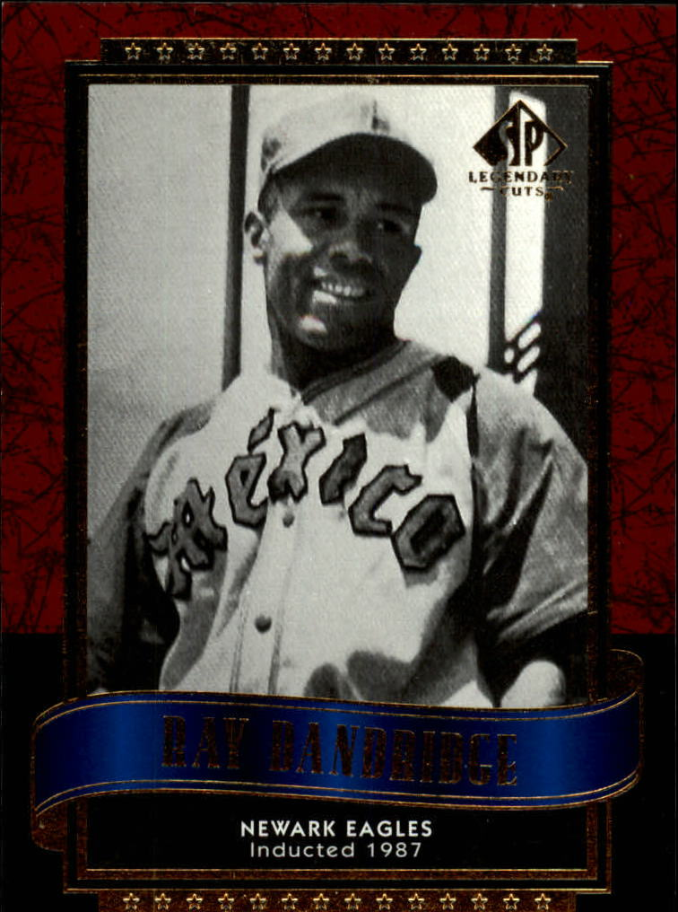 2003 SP Legendary Cuts #101 Ray Dandridge front image