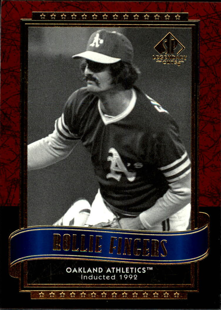 2003 SP Legendary Cuts #108 Rollie Fingers