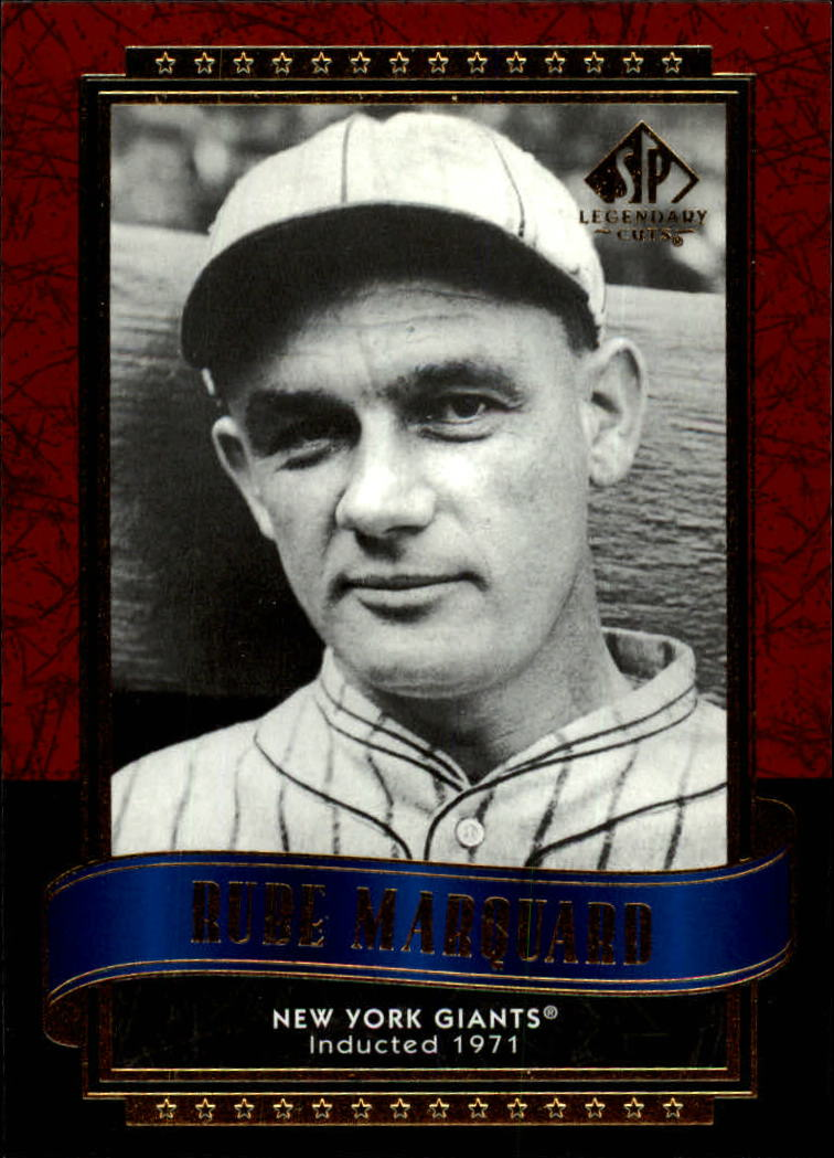 2003 SP Legendary Cuts #110 Rube Marquard