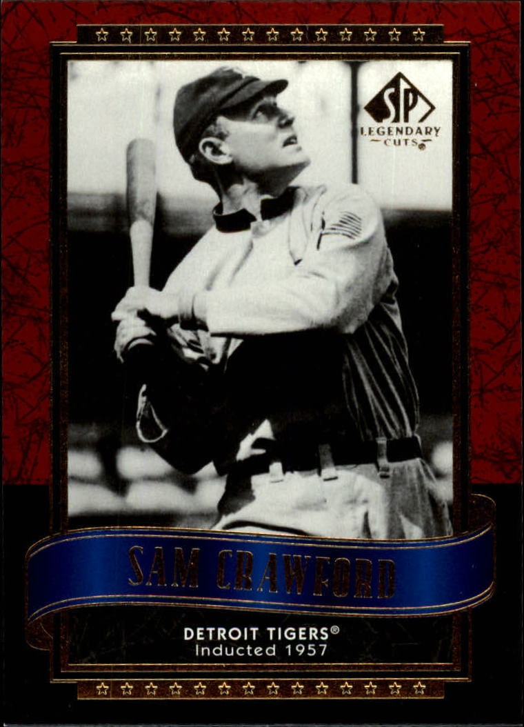 2003 SP Legendary Cuts #111 Sam Crawford