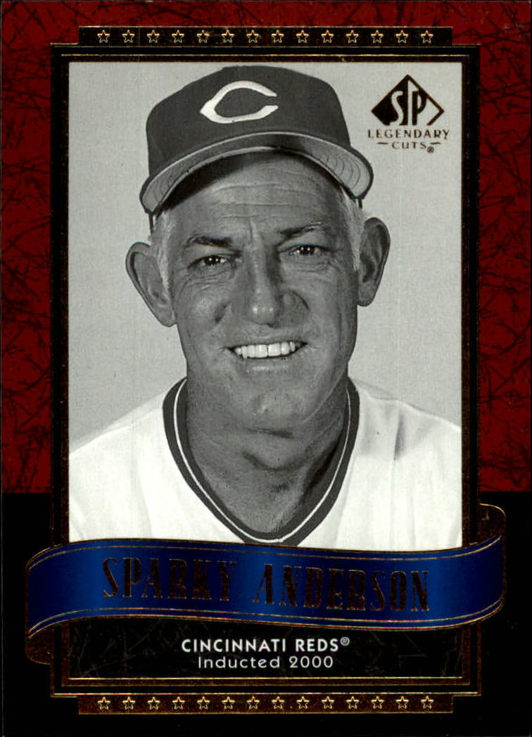 2003 SP Legendary Cuts #114 Sparky Anderson