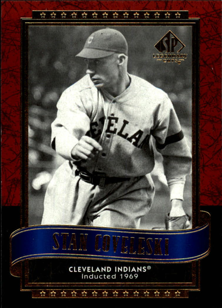 2003 SP Legendary Cuts #115 Stan Coveleski
