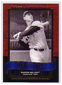 2003 SP Legendary Cuts #117 Ted Williams