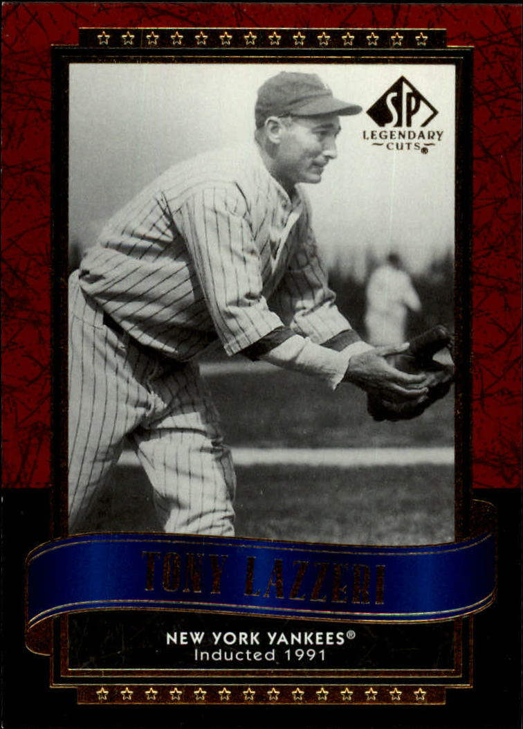 2003 SP Legendary Cuts #120 Tony Lazzeri