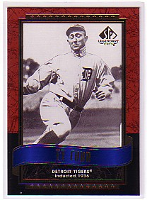 2003 SP Legendary Cuts #123 Ty Cobb