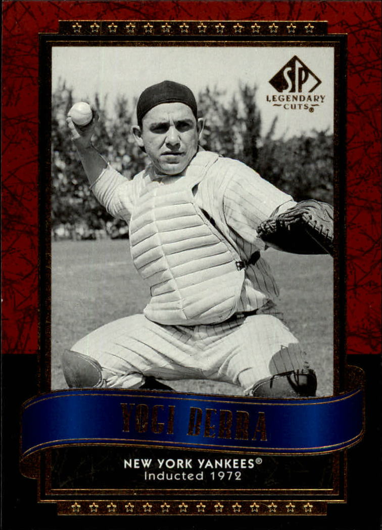 2003 SP Legendary Cuts #130 Yogi Berra
