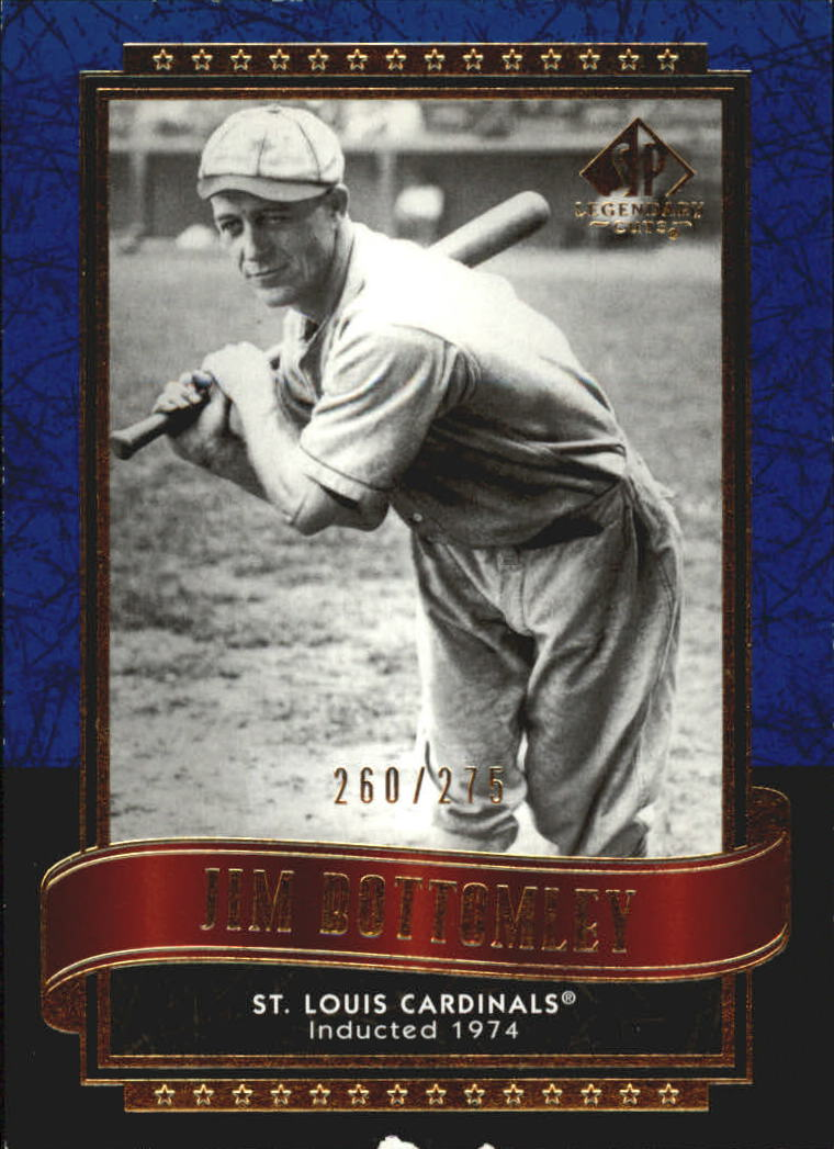 2003 SP Legendary Cuts Blue #57 Jim Bottomley