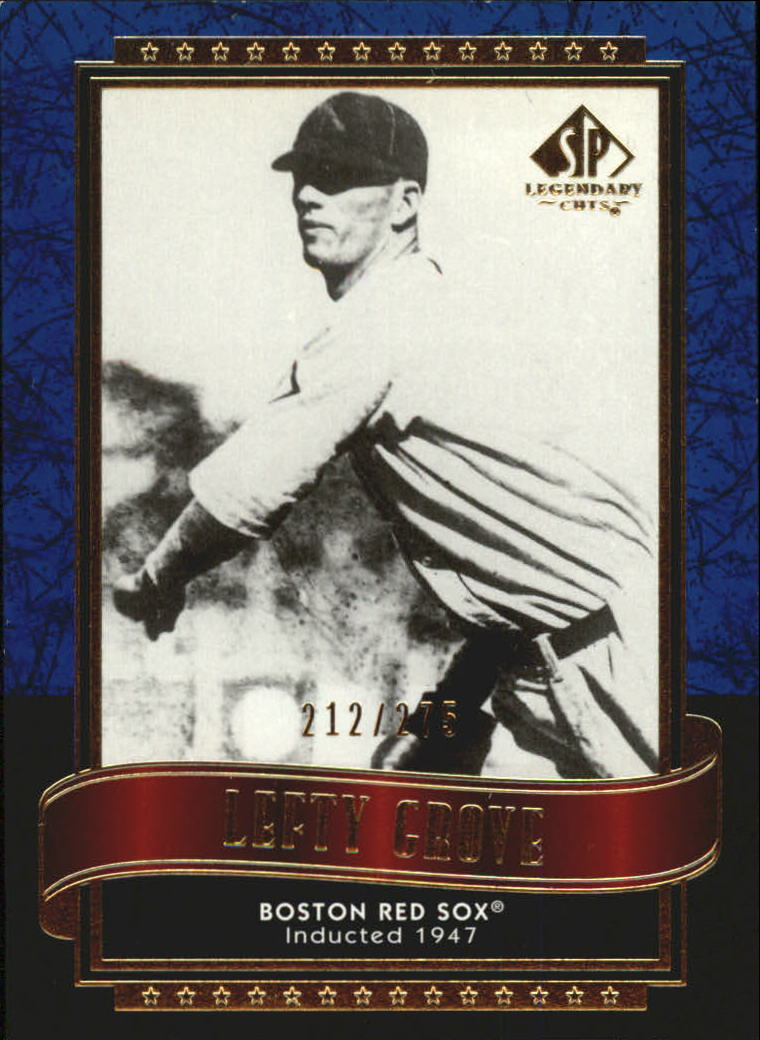 2003 SP Legendary Cuts Blue #80 Lefty Grove