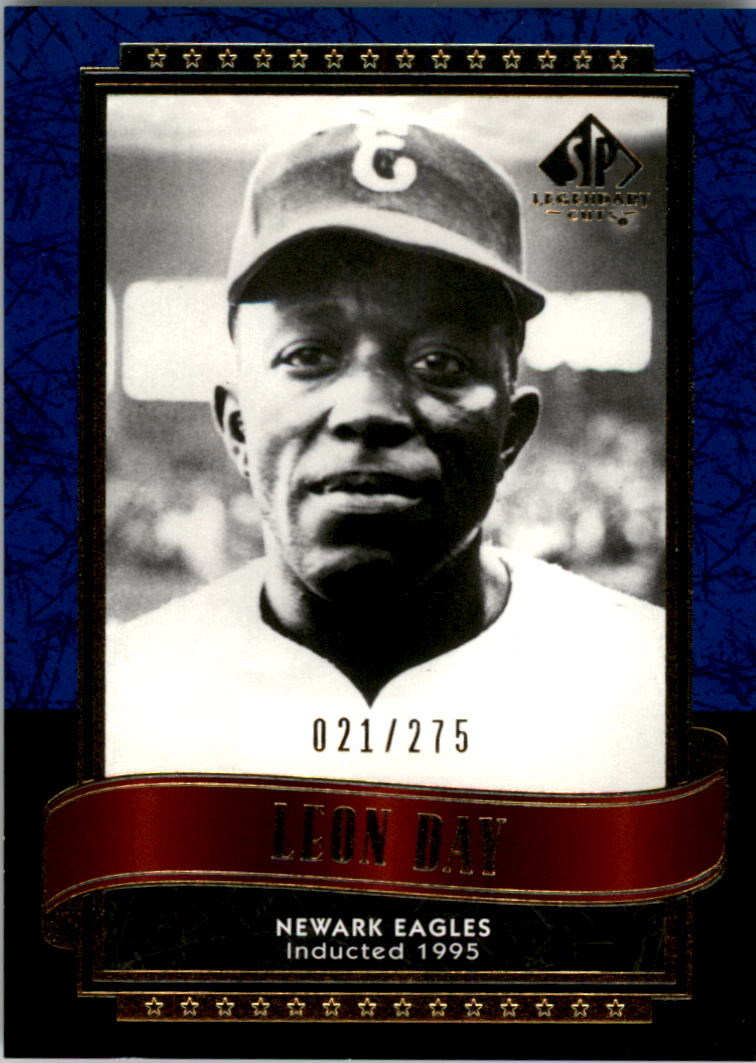 2003 SP Legendary Cuts Blue #82 Leon Day