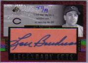 2003 SP Legendary Cuts Autographs #LB1 Lou Boudreau/49