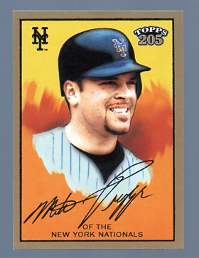2003 Topps 205 #12B Mike Piazza Yellow