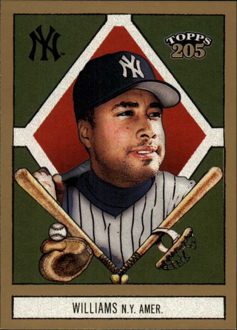 2003 Topps 205 #16 Bernie Williams