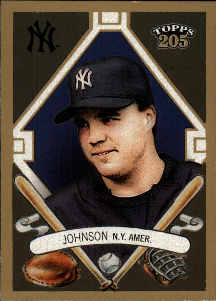 2003 Topps 205 #42 Nick Johnson