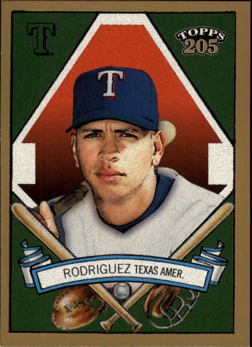 2003 Topps 205 #50A Alex Rodriguez Look Ahead