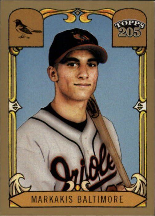 2003 Topps 205 #176 Nick Markakis FY SP RC
