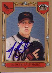 2003 Topps 205 #185 Adam Loewen FY SP RC