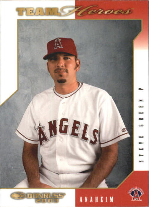 2003 Donruss Team Heroes #2 Steve Green