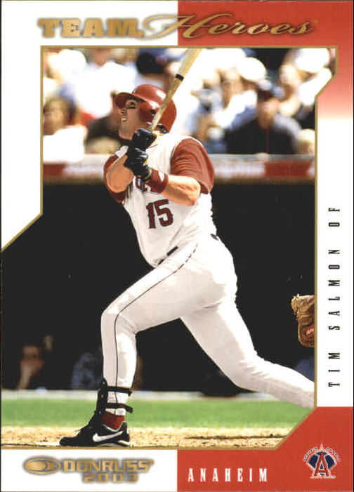 2003 Donruss Team Heroes #8 Tim Salmon