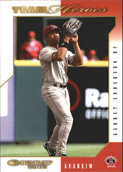 2003 Donruss Team Heroes #9 Garret Anderson