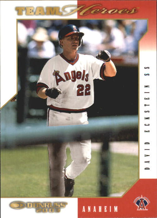 2003 Donruss Team Heroes #12 David Eckstein