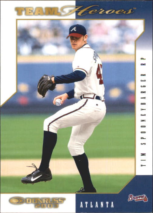 2003 Donruss Team Heroes #27 Tim Spooneybarger