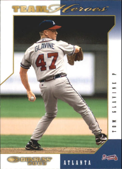 2003 Donruss Team Heroes #39 Tom Glavine