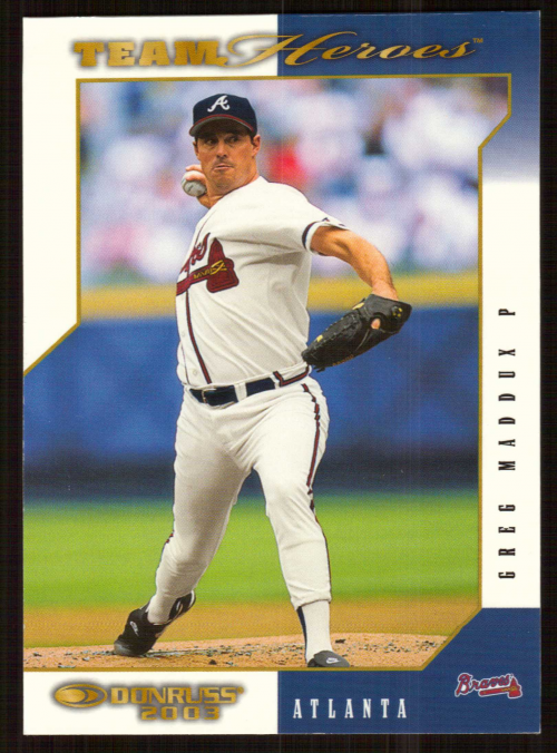 2003 Donruss Team Heroes #42 Greg Maddux Braves