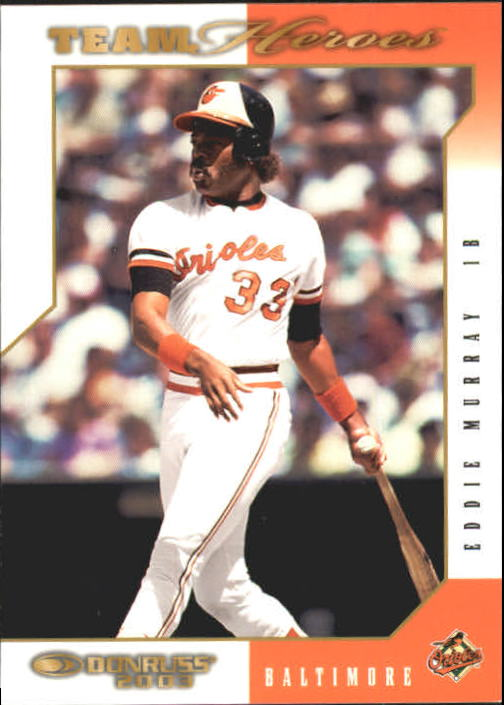 2003 Donruss Team Heroes #65 Eddie Murray