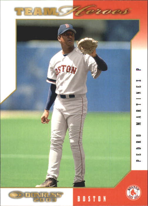 2003 Donruss Team Heroes #68 Pedro Martinez