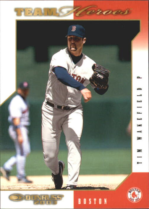 2003 Donruss Team Heroes #74 Tim Wakefield