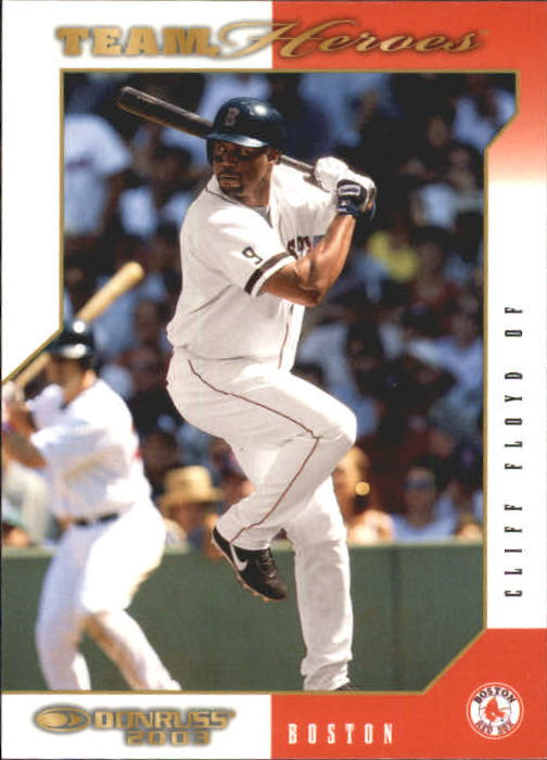 2003 Donruss Team Heroes #76 Cliff Floyd