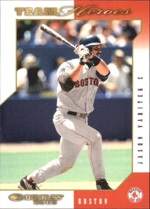 2003 Donruss Team Heroes #87 Jason Varitek