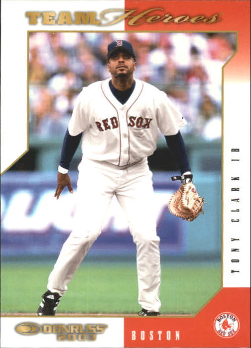 2003 Donruss Team Heroes #93 Tony Clark