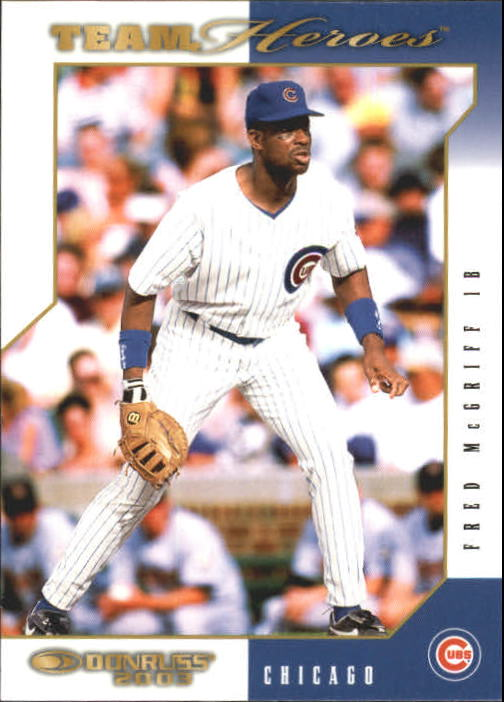 2003 Donruss Team Heroes #96 Fred McGriff