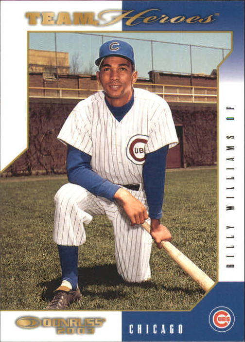 2003 Donruss Team Heroes #118 Billy Williams