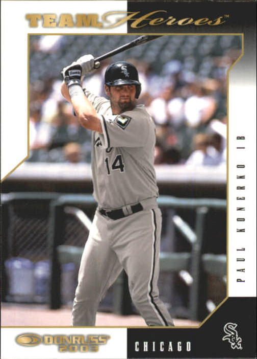 2003 Donruss Team Heroes #130 Paul Konerko