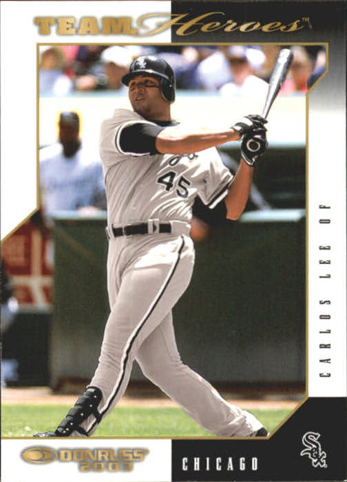2003 Donruss Team Heroes #132 Carlos Lee